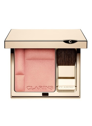 Clarins CLR Blush Compact 09 Golden Pink Pembe